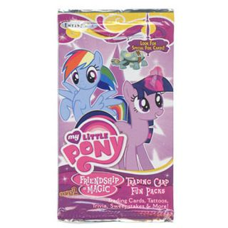 My Little Pony Friendship Is Magic Series 2 Rading Card Fun Pack 4 Cards