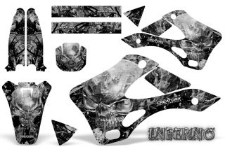 Kawasaki KX 250 99 02 Graphics Kit Creatorx Decals Inferno Infs