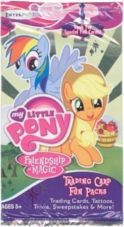 My Little Pony Friendship Is Magic Trading Card Fun Pack 4 Cards More