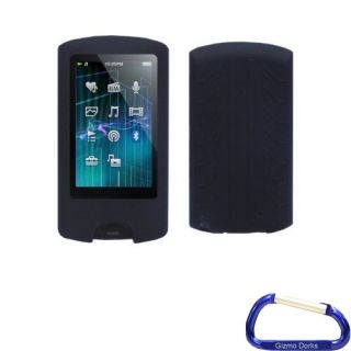 Black Silicone Skin Case Cover for Sony Walkman A Series NWZ A865 NWZ A864