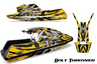 Yamaha Superjet Jet Ski Square Nose Graphics Kit jetski Decals BTY