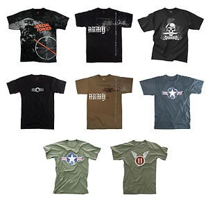 Vintage Army T Shirts Army Graphic Design Tshirts Military Printed Tees