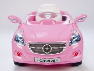 Kids AMG Style Pink Ride on RC Car Remote Control Electric Powered Wheels