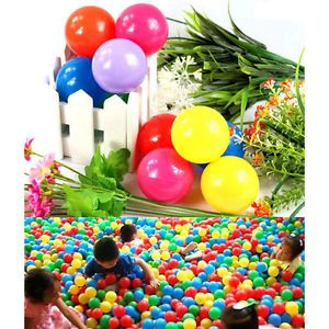 1 Pcs Colorful Ball Fun Ball Soft Plastic Ocean Ball Baby Kid Toy Swim Pit Toy