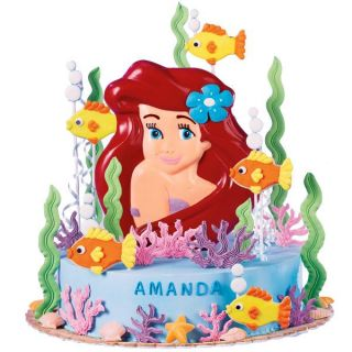 Wilton Disney Princess Ariel Icing Color Set Cake Party