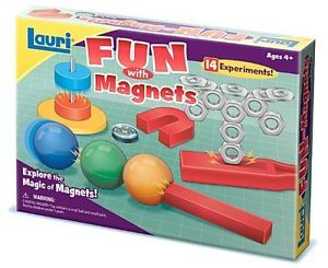 Lauri Fun w Magnets Toys Kids Children Learning Writing Education Games Readin