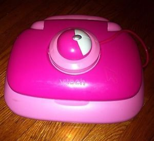Vtech Baby Toddler Kids Girl Learning Laptop Computer Toy Learn Play Fun Pink