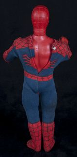"Mego Spiderman Original Action Figure 12"" Doll Suit Marvel Vtg 78"