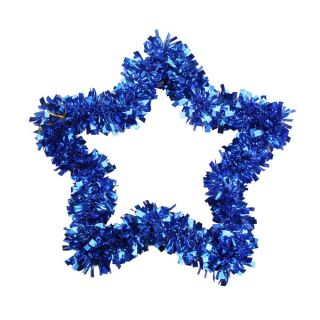 Colorful Christmas Xmas Tree Ornements Decoration Hanging Star Purple Green Blue