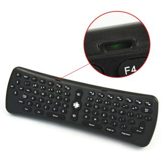 2 4GHz RF Wireless Gyro Fly Air Mouse Keyboard Smart TV Android Remote Control