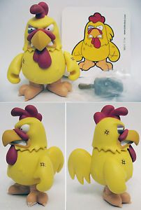 "Kidrobot 3"" Family Guy Fighting Angry Chicken Chase Edition Vinyl Art Toy"