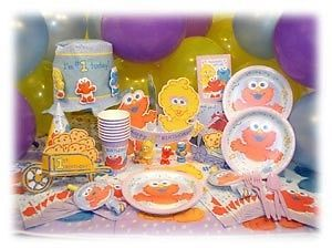 Sesame Street Beginning First Birthday Party Supplies You Choose The Items U WA