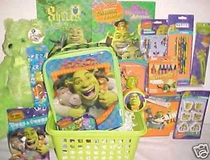 New Shrek Toy Easter Gift Basket Birthday Toys Lunch Box Art Christmas Gift