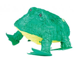 Frog Pinata Kids Themed Birthday Party Games Supplies