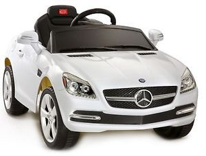 Licensed Mercedes SLK Ride on Power Wheels Battery Toy Kids Car Remote Control