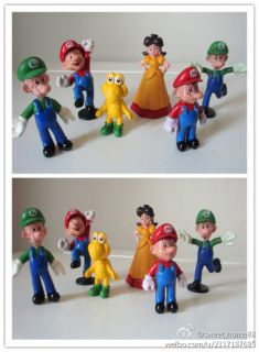 Super Mario Bros Cake Decorations