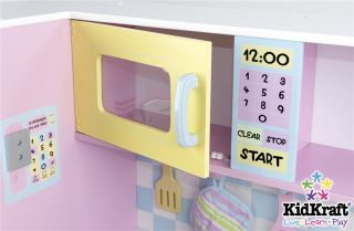 Girls Large Pretend Play Pastel Kitchen Kids Stove Toy