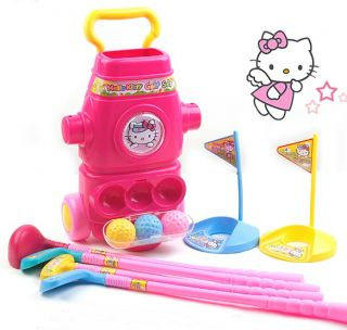 ★hello Kitty Girls Toy Golf Club Kids Indoor Xmas Gift★