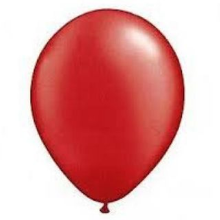 12 Red Latex Balloons Birthday Party Supplies Decorations Wedding Baby Shower