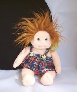 Ty Beanie Babies Kids Ginger Plush Redhead Girl Doll Plush Stuffed Toy NMWT