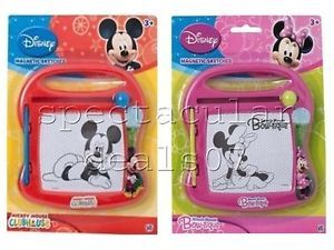 Kids Disney Magnetic Drawing Board Magic Writer Sketcher Toy Etch A Sketch