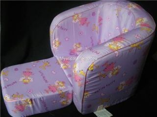 Purple Princess Fairy Canopy Chair Toy Box Bedroom Decor Set for Girls New