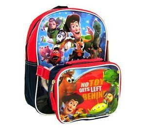 "Disney Toy Story School Kids 12"" Backpack Lunch Bag"