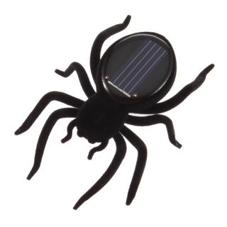 Educational Solar Powered Spider Cockroach Grasshopper Butterfly Toy Gadget Kids