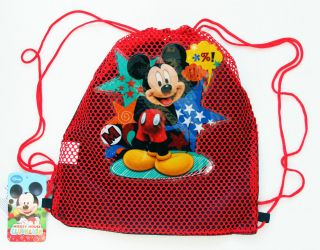 Wholesale Lot 12 Disney Mickey Mouse Sling Bag Tote Net Birthday Party Favors 3