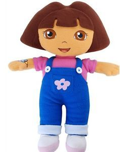 "New 12"" Dora The Explorer Kids Girls Soft Cuddly Stuffed Plush Toy Doll DHY 116"