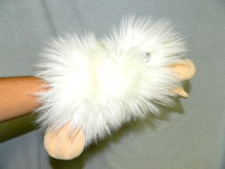 "Vtg 1988 Ganz Heritage Collection 13"" Plush White Googles Platypus Hand Puppet"