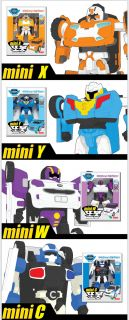 Tobot Mini x Compact Transformer Robot Cute Toy Action Figure for Kids