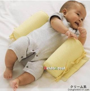 Children Baby Infant Toddler Kids Safe Cotton Pillow Sleep Head Positioner