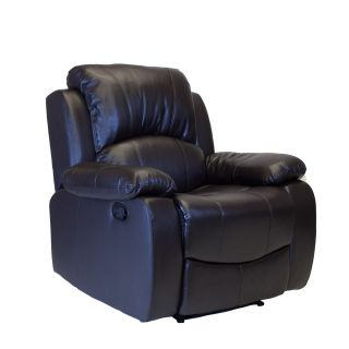 Comfortable New Faux Leather Recliner Chair