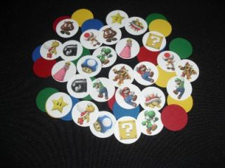 Super Mario Bros Birthday Party Mini Favor Confetti 50
