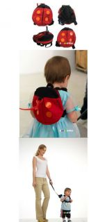 Baby Toddler Kids Children Walking Safety Rein Harness Ladybug Bag