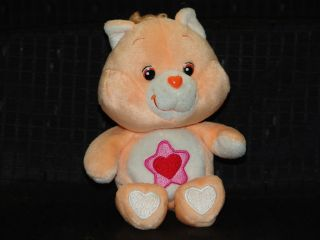 RARE 2003 Proud Heart Cat Care Bear Cousin Plush Toy 8""