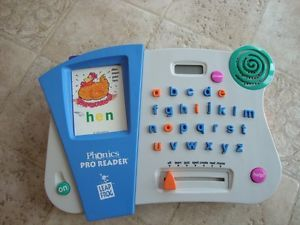Leap Frog Phonics Pro Electric Toy for Kids wiht ABC's Cards etc Help The Kids