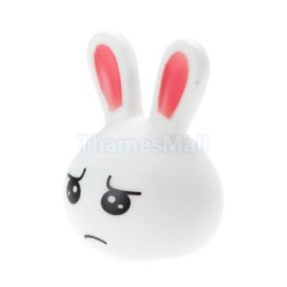 Cute Bunny Rabbit Color Changing LED Night Light Lamp for Bedroom Decoration New