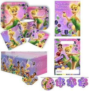 Tink's Sweet Treats Tinkerbell Disney Princess Birthday Party Supplies Fairies