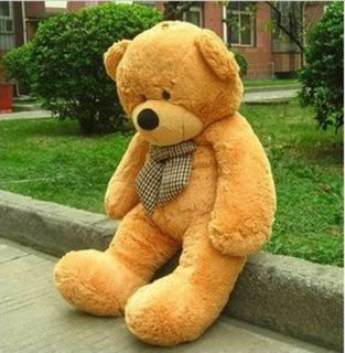 "1 2M 47"" Giant Huge Lovely Cuddly Teddy Bear Toy Doll Stuffed Animals Plush EMS"