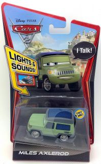 Disney Cars 2 Lights and Sounds Diecast Vehicles Six to Choose from Brand New