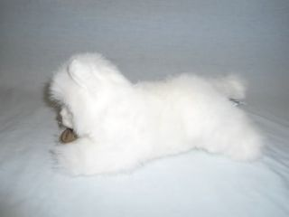 "Russ Berrie Yomiko Classics SM 12"" Plush Laying Persian Cat Kitten Stuffed"