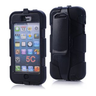 New Sport Outdoor Heavy Duty Survivor Belt Clip Case Cover for Apple iPhone 5c