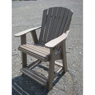 Little Cottage Company High Fan Back Balcony Chair