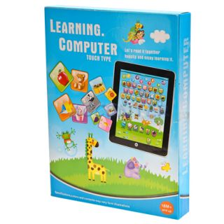 3 Colors Tablet Computer iPad Children Kids Educational Play Read Game Toy