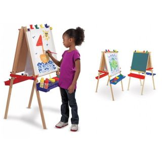 Melissa and Doug Deluxe Standing Art Easel Stand Children's Toy Kid Fingerpaint