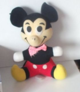 Vintage Walt Disney Mickey Mouse 7 inch Toy 113