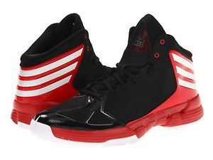 Men's Adidas Mad Handle High Performance Basketball Shoes All Sizes Blkwhred