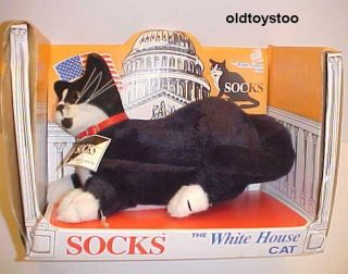 Socks The White House Cat by Street Kids 1993 w Box Clinton Administration